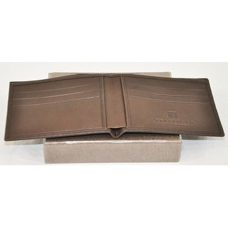 Trafalgar Mens Wallet Dark Brown With Card Slots