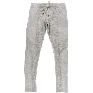 Betsey Johnson Womens Pull On French Terry Sweat Pants - M