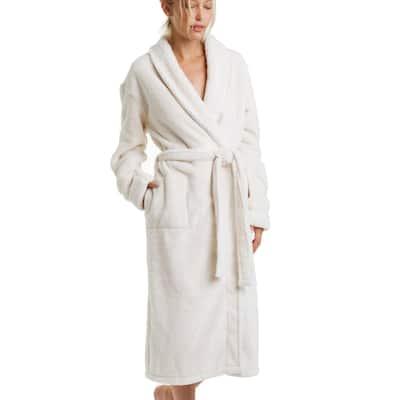 Plush and Cozy Sherpa Fleece Robe