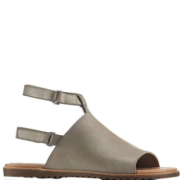 f13834beb68e Shop Sorel Womens Ella Leather Open Toe Casual Ankle Strap Sandals - Free  Shipping Today - Overstock - 26283189