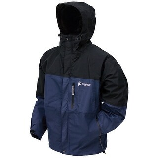 Frogg Toggs Youth Toad Rage Jacket Dust Blue/Black - Small - NT66301-122SM