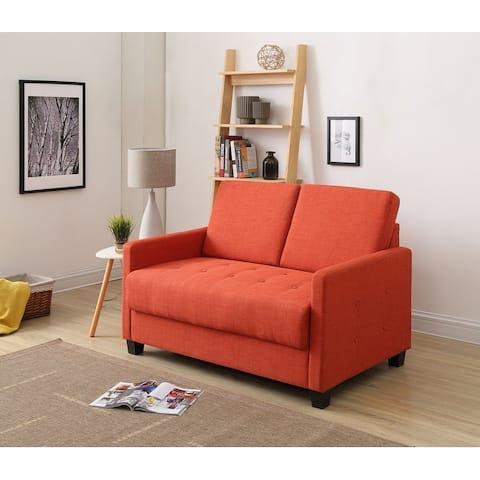 Dino Twill Living Room Loveseat