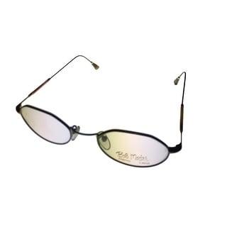 Bob Mackie Womens Opthalmic Eyeglass Metal Frames #777 Gold Tortoise - Medium