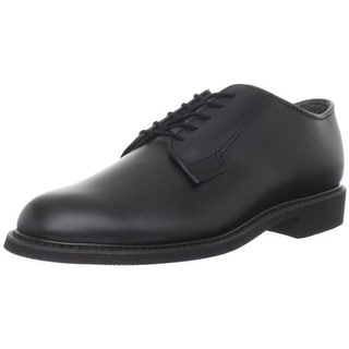 Bates Mens Uniform Oxfords Leather Derby
