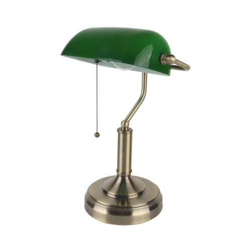 14.75-inch Bankers Lamp