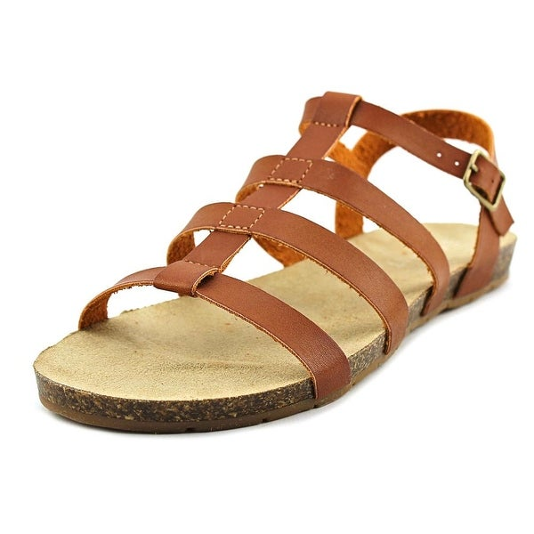 Esprit Lily-S16 Women Open-Toe Synthetic Brown Slingback Sandal