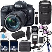 Canon EOS 7D Mark II DSLR Camera with 18-135mm USM Lens Bundle (Intl Model)