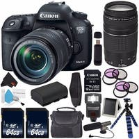 Canon EOS 7D Mark II DSLR Camera with 18-135mm USM Lens Bundle