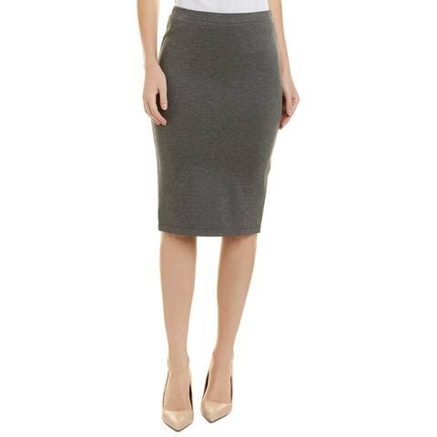 Trina Turk Junah Pencil Skirt - HEATHER GREY