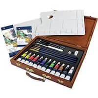 Acrylic Painting 25Pc - Wooden Box Art Set