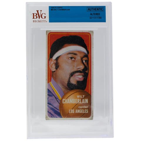Wilt Chamberlain 1970-71 Topps #50 Lakers Basketball Card BGS