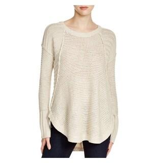 Aqua Womens Pullover Sweater Knit Pattern