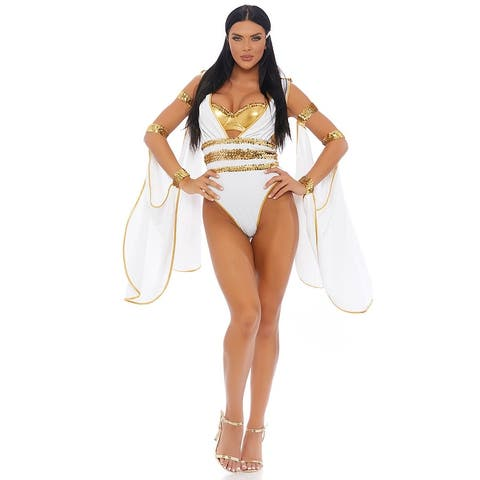 Glo' My Goddess Costume - As Shown