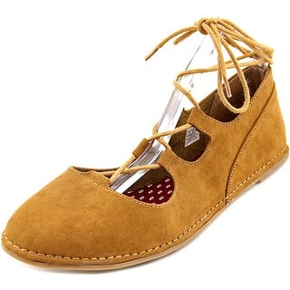 Rocket Dog Malt Women  Round Toe Synthetic Brown Flats