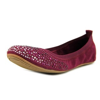 Unlisted Kenneth Cole Whole Sparkle   Round Toe Canvas  Ballet Flats