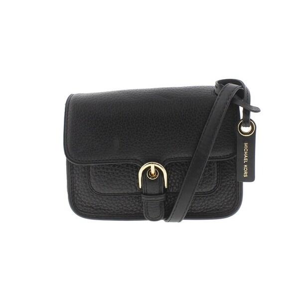 9daa3fc688b1 MICHAEL Michael Kors Womens Cooper Crossbody Handbag Leather Pebbled - small