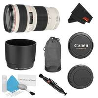 Canon EF 70-200mm f/4L USM Lens Bundle (Intl Model)