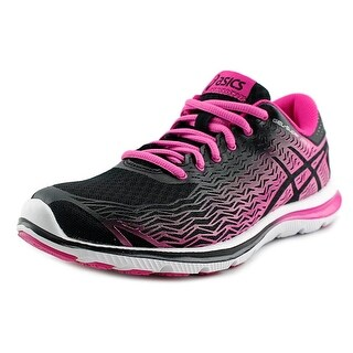 Asics GEL-Super J33 2 Women Round Toe Synthetic Black Running Shoe