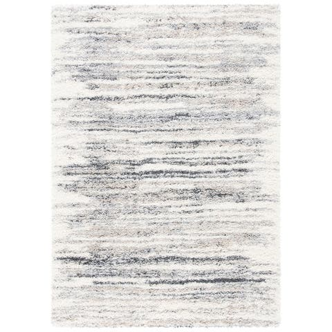 Safavieh Fontana Shag Ambrosia Modern Abstract 2-inch Thick Rug