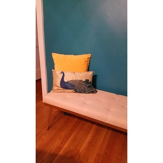 Thro by Marlo Lorenz Fancy Peacock Pillow