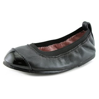 Pediped Angie Youth Round Toe Leather Flats
