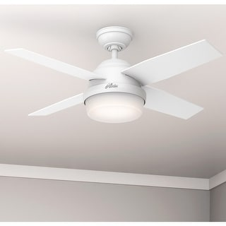 "Link to Hunter 44"" Dempsey Ceiling Fan with LED Light Kit and Remote Similar Items in Ceiling Fans"