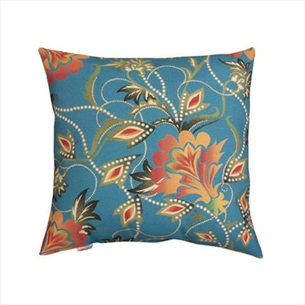Shop Manual Woodworkers And Weavers Bright Floral Climaweave Pillow