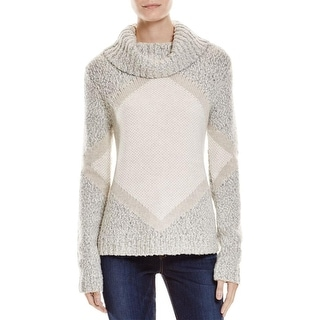 Shae Womens Pullover Sweater Wool Blend Turtleneck