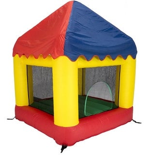 Bazoongi BH66CC 6.25 x 6 ft. Bounce House Combo with Circus Cover