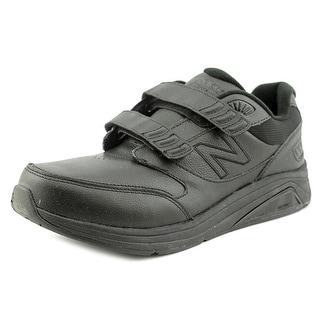 New Balance MW928 Round Toe Leather Walking Shoe