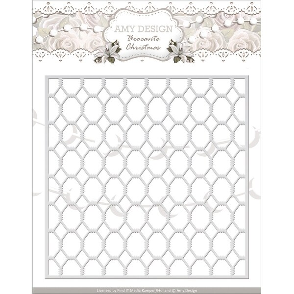 Find It Trading Amy Design Brocante Christmas Die-Wire Frame
