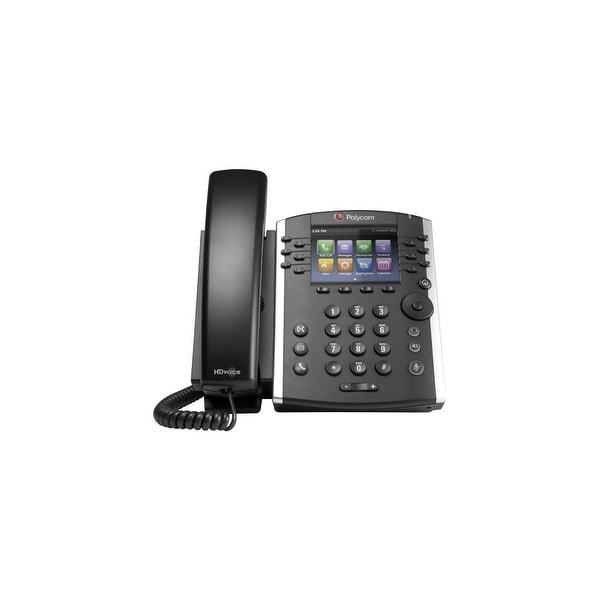 Polycom 2200-48400-001 VVX 401 12-Line Desktop Corded VoIP Phone