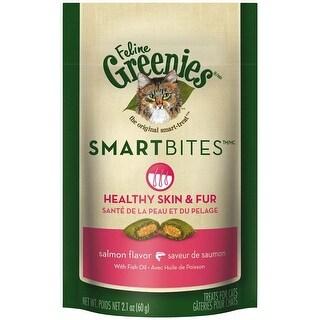 Greenies Smartbites Skin & Fur Salmon 2.1oz