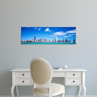Easy Art Prints Panoramic Images's 'Skyline, Chicago, Illinois, USA' Premium Canvas Art