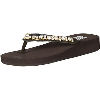 Yellow Box Women's Karla Flip Flop - Brown