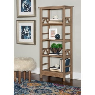 Link to Copper Grove Iargara Driftwood Bookcase Similar Items in Office Storage & Organization