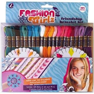 Fashion Girlz Friendship Bracelet Thread Party Pack Kit-