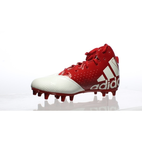 Star Mid Red Football Cleats Size 6.5