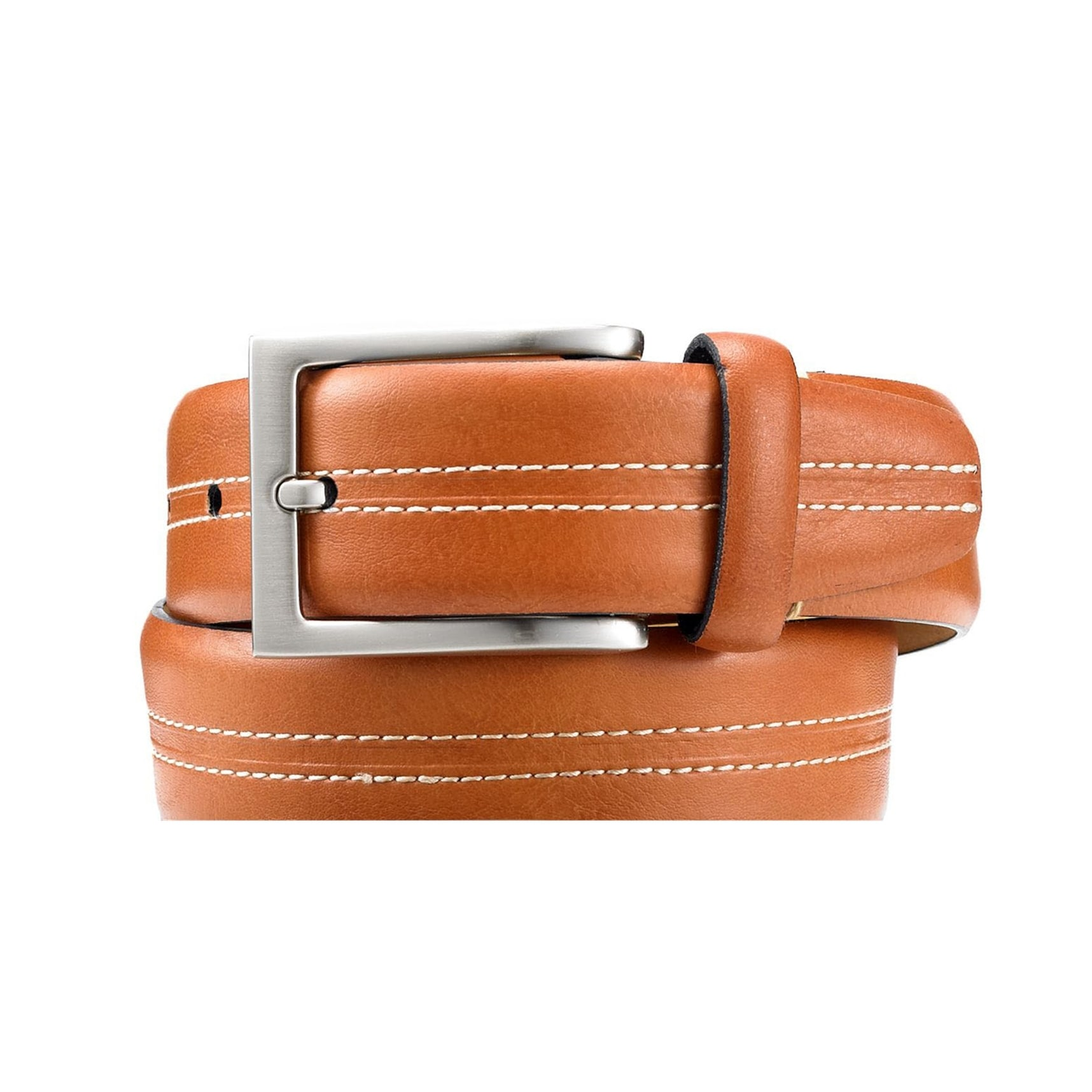 Tasso Elba 35mm Vachetta Casual Belt Black