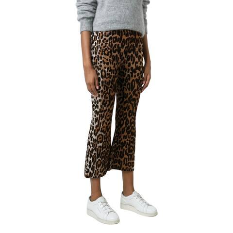 Stella McCartney Womens Flared Leopard Pants Size 6