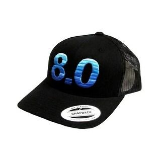 HOOey Hat Mens Baseball Cap 8.0 Roughy Snapback