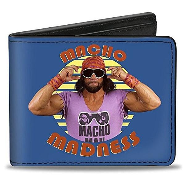 Buckle-Down Bifold Wallet WWE Macho Man Randy Savage