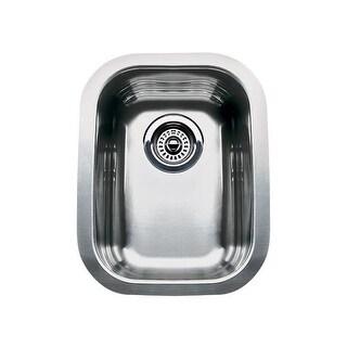 "Blanco 440165 Wave Single Basin Stainless Steel Bar Sink 12 7/16"" x 17 3/4"""