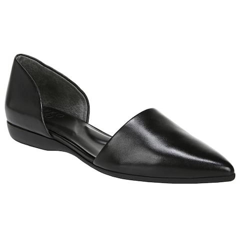 Franco Sarto Darlin Slip On Flats Womens Flats Casual - Black