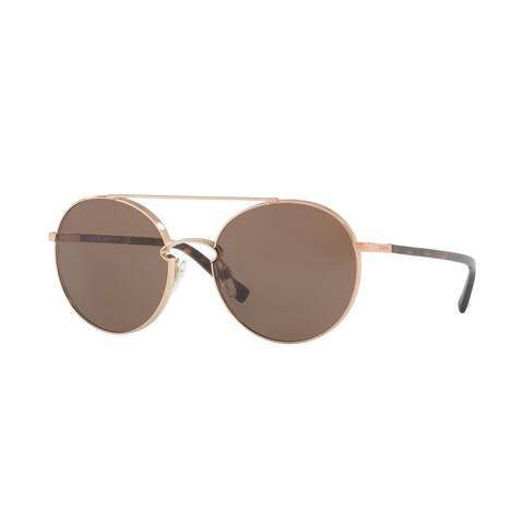 Valentino VA2002 300473 55 Rose Gold Woman Round Sunglasses