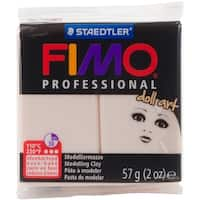 Fimo Professional Doll Art Clay 2Oz-Transulcent Rose
