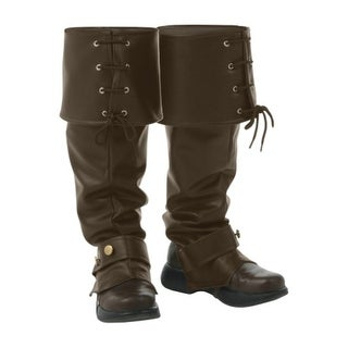 Deluxe Brown Boot Tops - ST