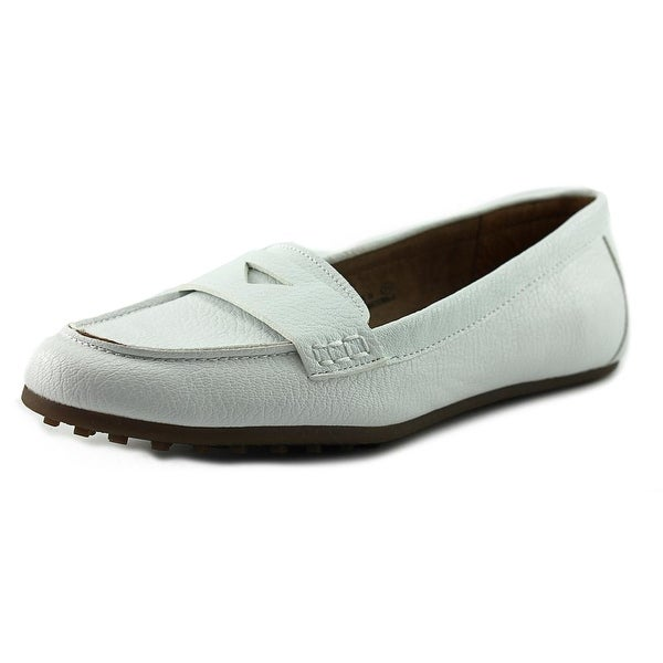 Aerosoles Drive-in Women Moc Toe Leather Loafer