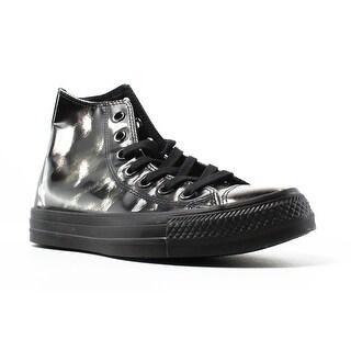 Converse Womens Ctas Brush Off Black Fashion Shoes Size 5.5