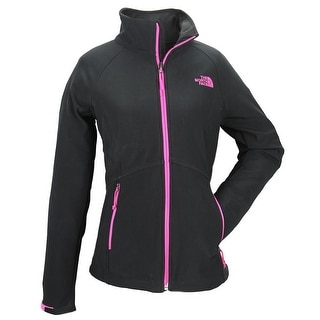 The North Face Women Shellrock Basic Jacket Black/Glo Pink